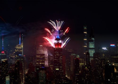 Macy's 4th of July fireworks end with stunning Empire State Building display