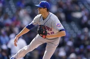 DeGrom strikes out 9 in row, 14 in all, Mets beat Rockies
