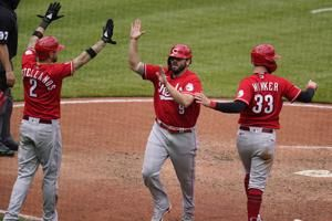 4-run 10th inning leads Reds past Pirates 5-1