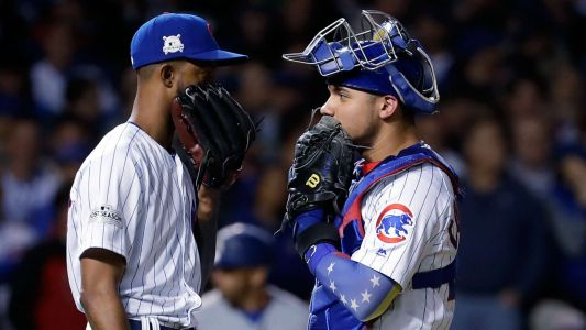 Catchers Martin Maldonado, Willson Contreras 'don't care' about mound visits rule
