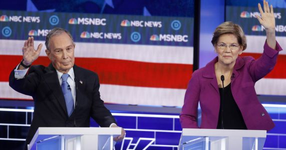 Democrats' feisty debate reaches nearly 20 million viewers
