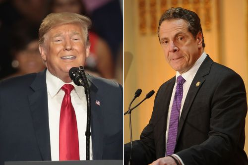 Trump says Cuomo is having a 'total meltdown'
