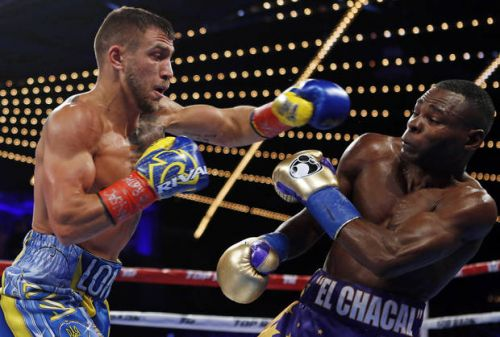 Lomachenko stops Rigondeaux to win match of Olympic greats