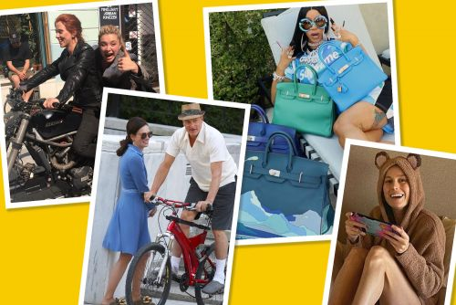 Best star snaps of the week: Bikes, bags and bears. Oh my!