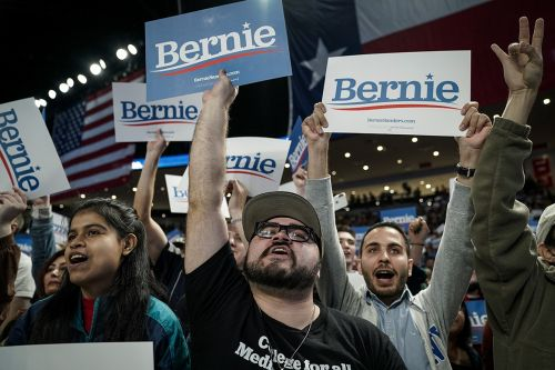 'Nearly insurmountable': Bernie barrels toward Super Tuesday delegate windfall