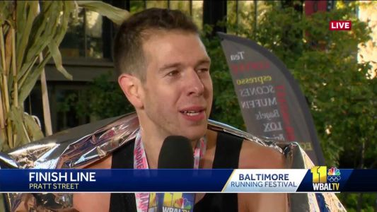 Jeremy Ardanuy reflects on winning Baltimore Marathon