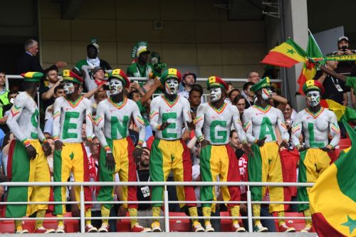 Senegal and Japan fans cleaned up the stadium after their World Cup wins