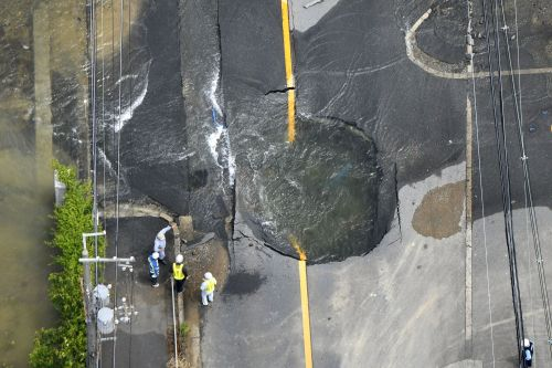 2 feared dead, dozens injured after earthquake hits Japan