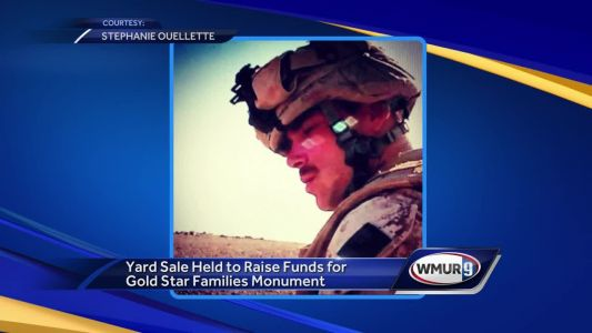 Gold Star sister uses yard sale to raise money for memorial