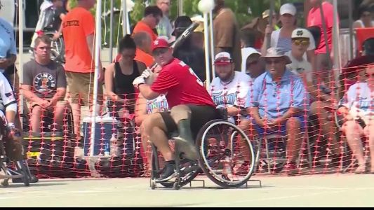 Wheelchair softball league to play this weekend in KC