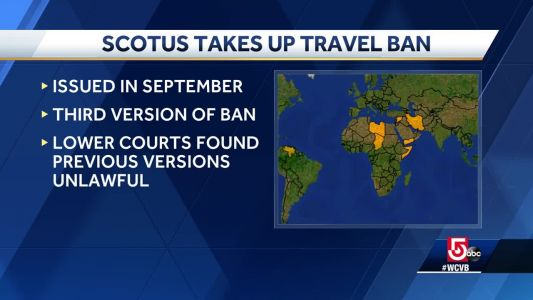 Supreme Court's last argument is over Trump travel ban