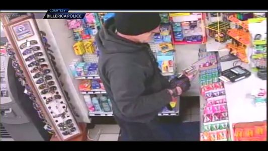 Brazen armed robbery caught on video; man facing charges