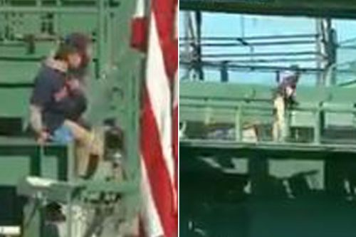 Red Sox fan sneaks into Fenway Park during Yankees game in worrisome scene