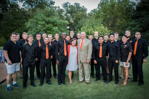 Oklahoma State University couple find joy in supporting 'their kids'