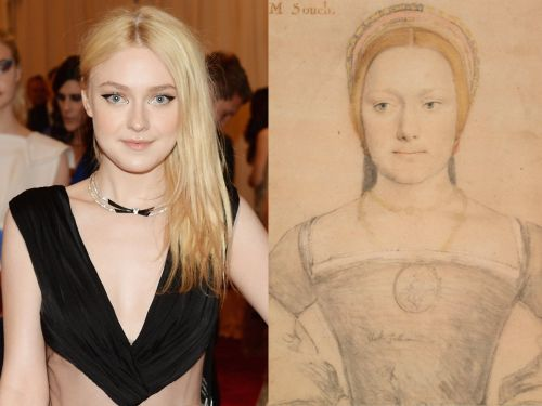 9 celebrities who look exactly like famous works of art