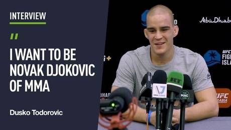 'I want to be the Novak Djokovic of MMA': UFC newcomer Dusko Todorovic plans to be Serbia's latest sports star