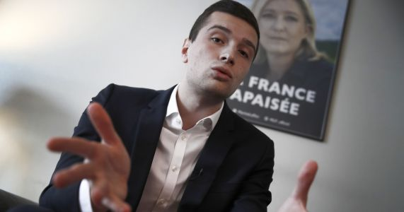 French far-right EU candidate says his party equals progress