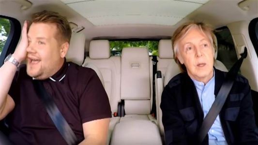 Paul McCartney Brought James Corden to Tears on 'Carpool Karaoke'