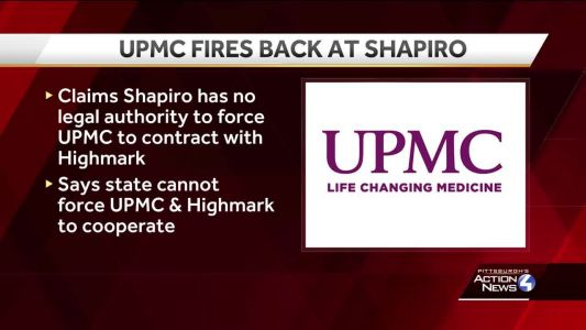 UPMC fires back in legal battle over health insurance rules