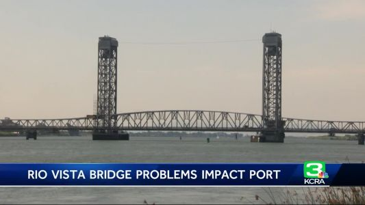 Broken Rio Vista Bridge causes problems for shipping industry