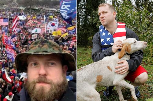 Former Marine who went viral for saving dogs charged with attacking officer at Capitol riot