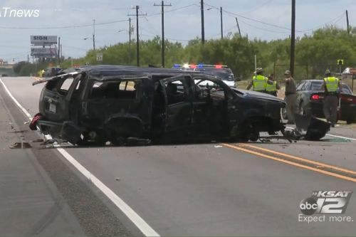At least 5 dead as SUV chased by Border Patrol crashes