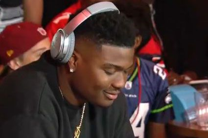 Dwayne Haskins laughs at Giants' NFL draft pick before Redskins pounce