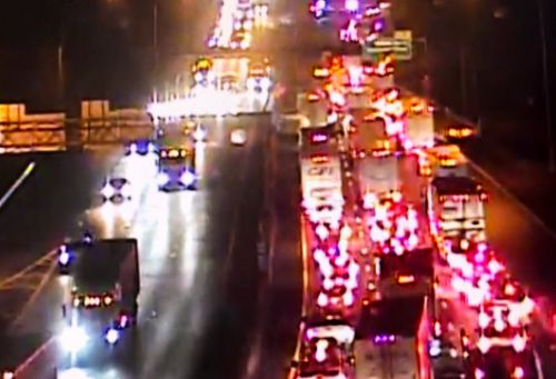 I-75 NB reopened at Towne Street after crash