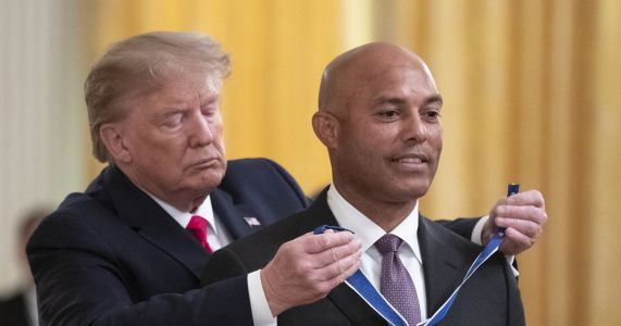 Trump honors Yankees' Rivera with Medal of Freedom