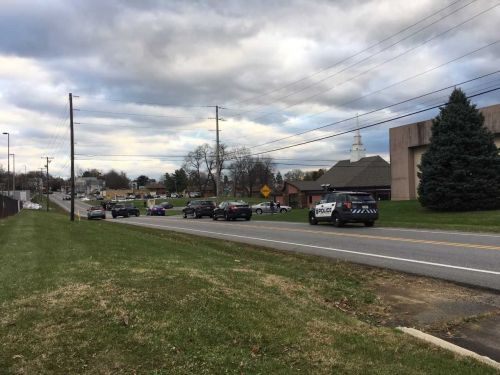 Police incident in Steelton