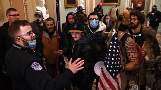 U.S. Says Rioters At Capitol Aimed 'To Capture And Assassinate Elected Officials'