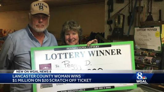 Lancaster county woman wins $1 million on scratch off ticket