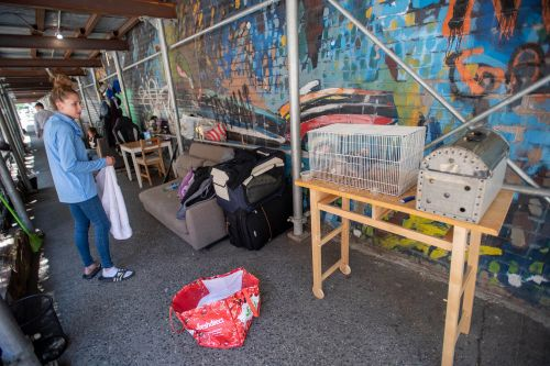Residents fume as Hell's Kitchen street turned into homeless encampment