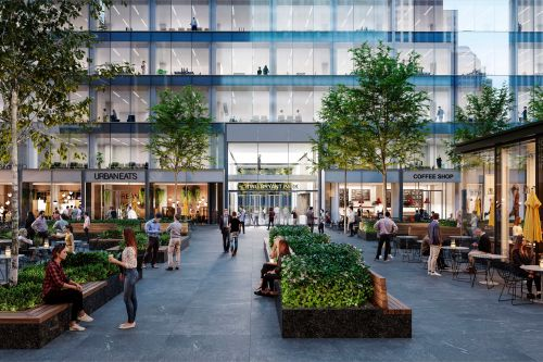 Digital marketing firm moving into stylish penthouse offices