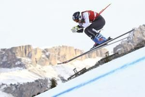Skier-snowboarder Ledecka leads World Cup downhill training