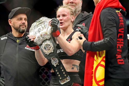 Valentina Shevchenko plans to stay busy as UFC champion: 'I want action'