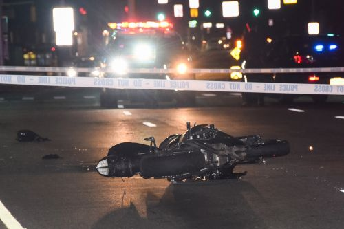 Motorcyclist, pedestrian in critical condition after Queens collision