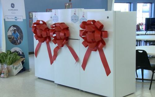 GE Appliances gifts Dare to Care food bank with new appliances