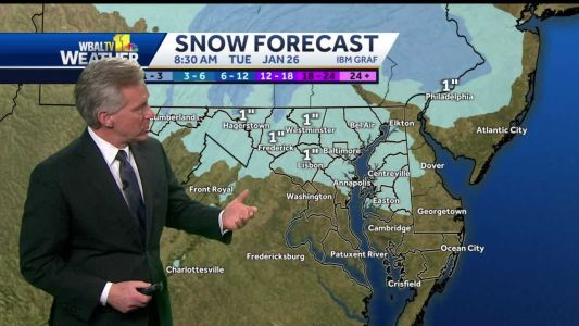 Tom says light snowfall will end before freezing rain mixes in overnight