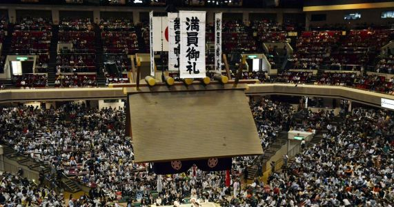 Japan wrestling with Trump going to sumo during state visit