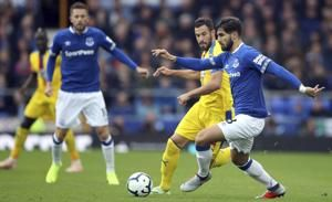Everton wins 3rd straight EPL game with late goals vs Palace