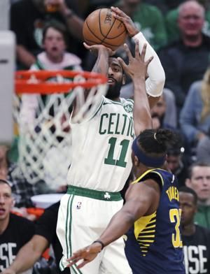 Irving scores 37, Celtics beat Pacers 99-91 for 2-game lead