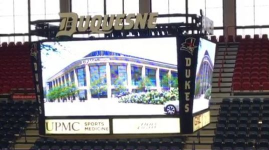 Duquesne announces total renovation of Palumbo Center, name change to UPMC Cooper Fieldhouse
