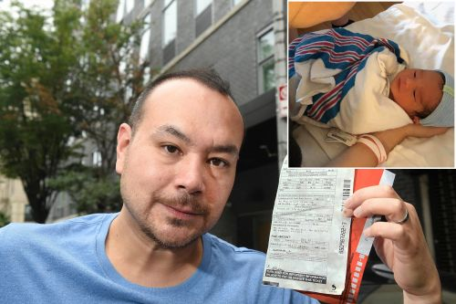 Father forced to pay parking ticket he got during son's birth