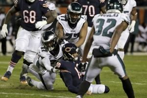 NFL fines Michael Bennett, Adrian Amos for unnecessary roughness