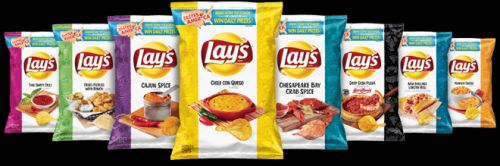 Lay's is releasing 8 new chip flavors inspired by hometown favorites