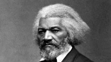 Statue for black abolitionist Frederick Douglass in NY state beyond repair after ripped down by vandals