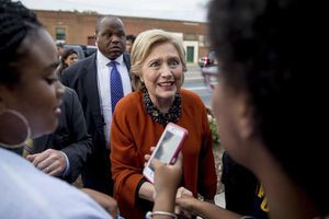 The Latest: New Clinton ad features President Obama