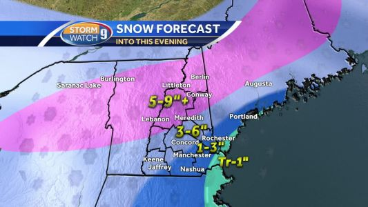 Watch: Snow across the Granite State