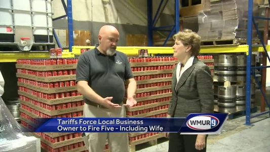Business owner says tariffs have forced layoffs